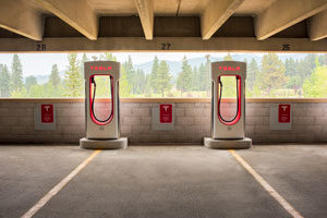 Hard Rock provides 14 Tesla Superchargers